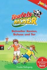 Teufelskicker junior - Schneller Konter Schuss und Tor