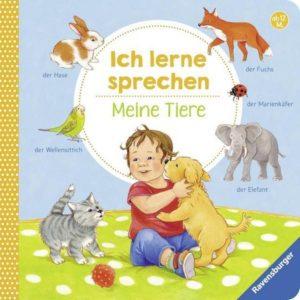 Cover_Frauke Nahrgang_Ich lerne sprechen. Meine Tiere_Ravensburger
