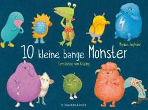 Cover_Constanze von Kitzing_10 bange kleine Monster_Sauerländer